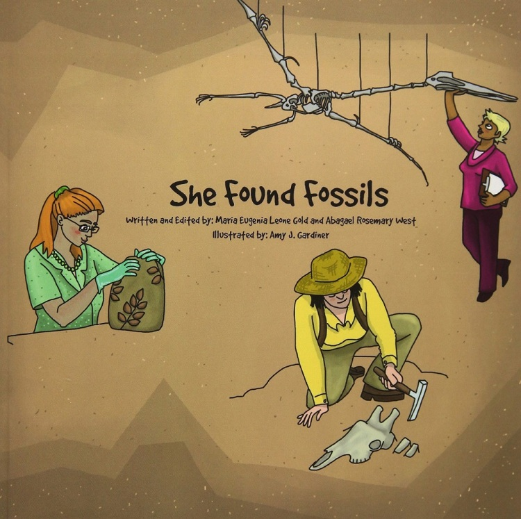 "Alexis is honored to be featured in Dr. Eugenia Gold's new children's book, ""She Found Fossils"", which can be purchased on Amazon in English and Spanish!"