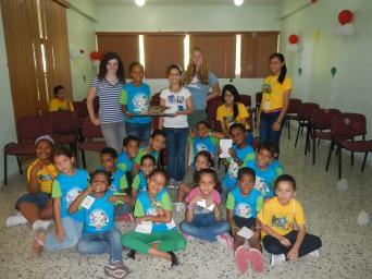 Leading biodiveristy workshops for children.